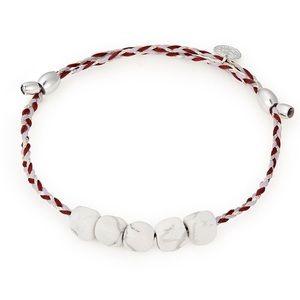 Alex and Ani Howlite Precious Thread Bracelet